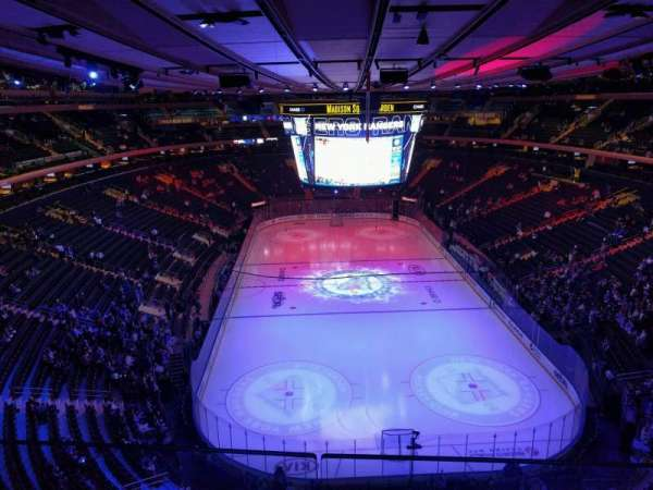 Madison Square Garden, section: 304, row: 2, seat: 13