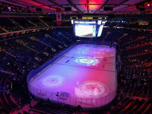 Madison Square Garden, section: 306, row: 1, seat: 17