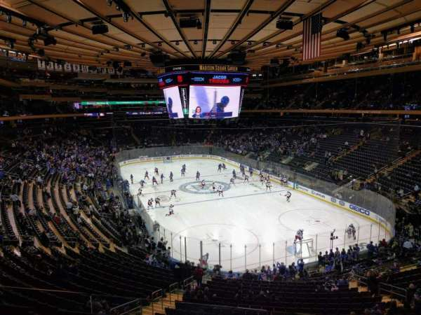 Madison Square Garden, section: 216, row: 3, seat: 13