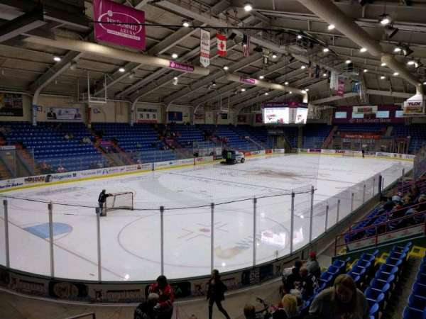 1st Summit Arena, section: 22, row: k, seat: 11