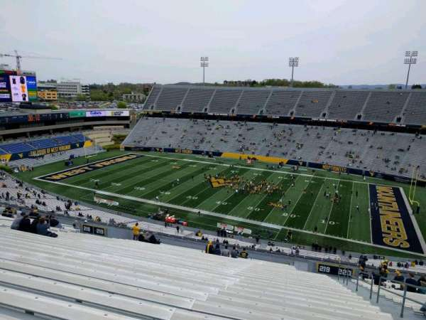 Mountaineer Field, section: 219, row: 31, seat: 130