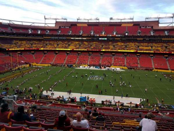 FedEx Field, section: 342, row: 15, seat: 12