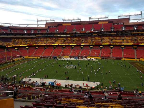 FedEx Field, section: 341, row: 16, seat: 15