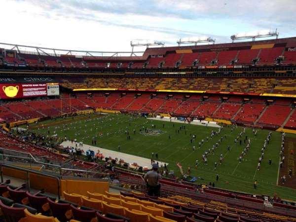 FedEx Field, section: 339, row: 19, seat: 13