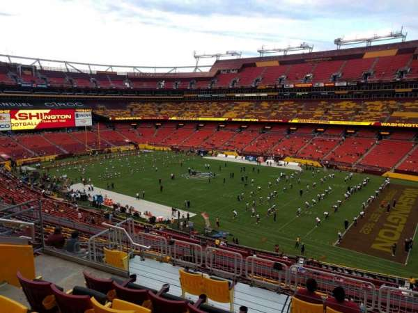 FedEx Field, section: 338, row: 14, seat: 13