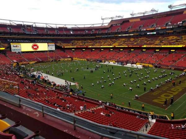 FedEx Field, section: 337, row: 3, seat: 17