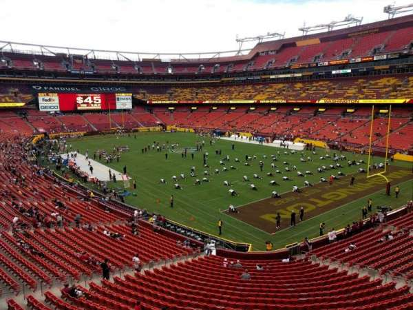 FedEx Field, section: 336, row: 1, seat: 15