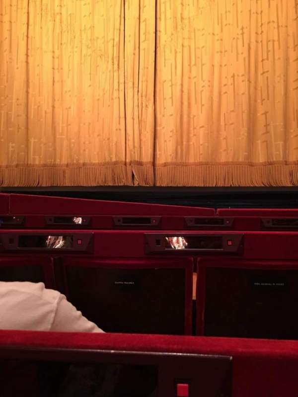 Metropolitan Opera House - Lincoln Center, section: Orch, row: C, seat: 112