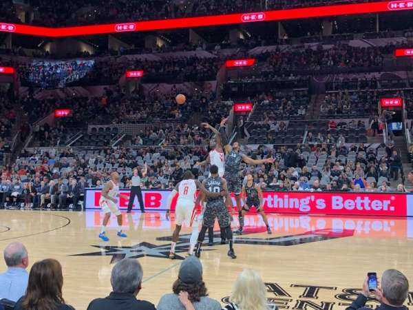 AT&T Center, section: 22, row: 6, seat: 2