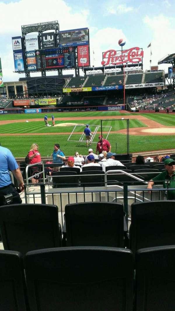 Citi Field, section: 18, row: 12, seat: 12