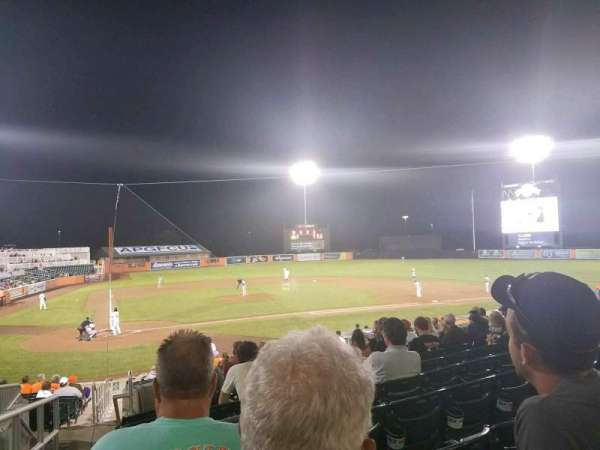 Ripken Stadium, section: 203, row: J, seat: 23
