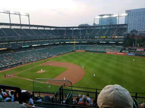 Oriole Park at Camden Yards, section: 312, row: 10, seat: 18