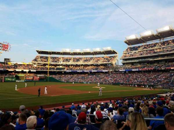Nationals Park, section: 113, row: T, seat: 5