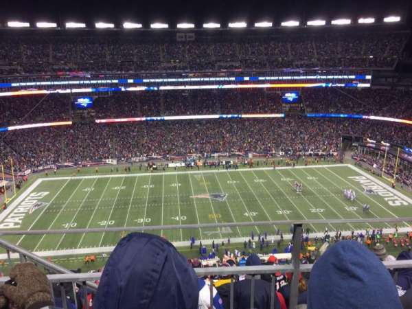 Gillette Stadium, section: 332, row: 9, seat: 20