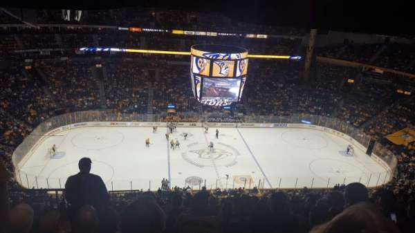 Bridgestone Arena, section: 309, row: P, seat: 20