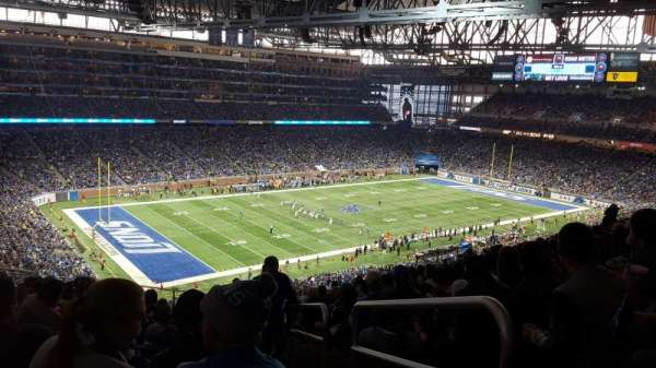 Ford Field, section: 325, row: 15, seat: 23