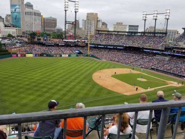 Comerica Park, section: 339, row: 1, seat: 16