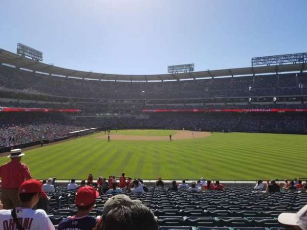 Angel Stadium, section: P238, row: K, seat: 1