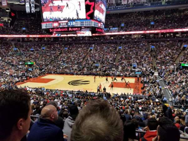 Scotiabank Arena, section: 118, row: 27, seat: 6