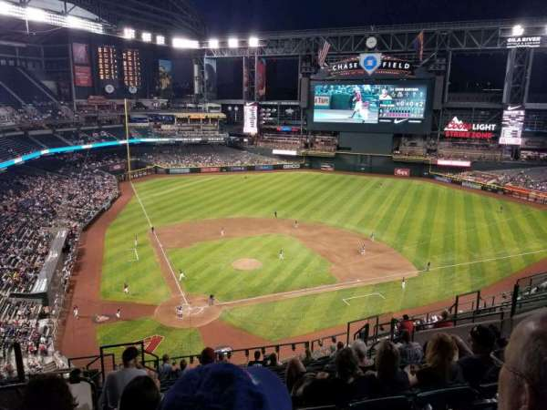 Chase Field, section: 313, row: 13, seat: 16