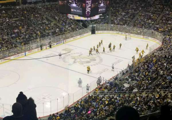 PPG Paints Arena, section: 207, row: F, seat: 14
