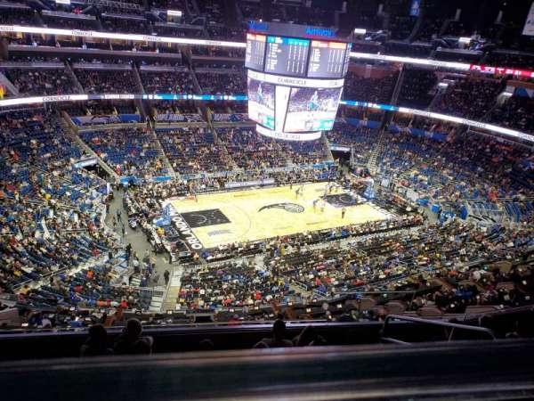 Amway Center, section: 228, row: 6, seat: 4