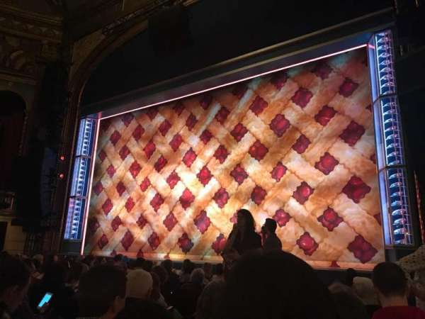 Brooks Atkinson Theatre, section: Orch R, row: H, seat: 10