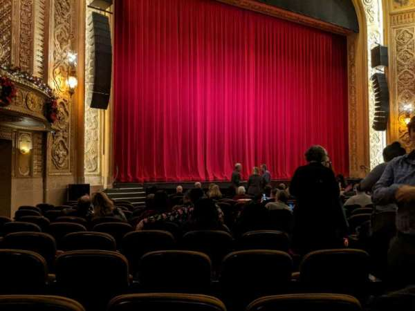 Paramount Theatre (Seattle), section: MF4, row: R, seat: 5