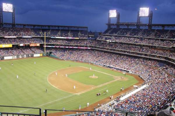 Citizens Bank Park, section: 431, row: 3, seat: 11