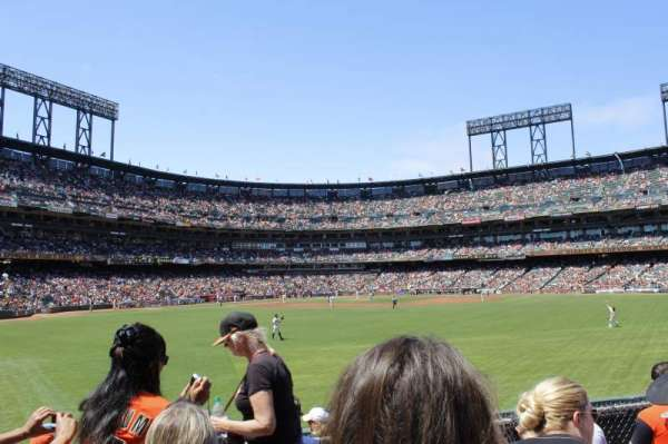 AT&T Park, section: b144, row: 6, seat: 13