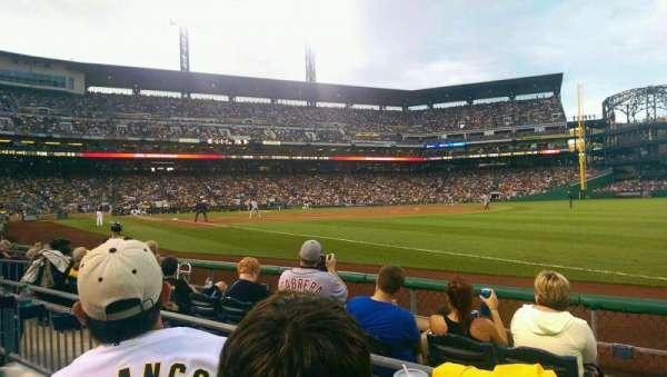 PNC Park, section: 2, row: E, seat: 10