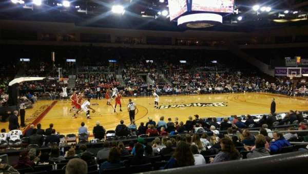 Erie Insurance Arena, section: 203, row: K, seat: 11