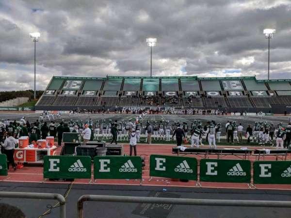 Rynearson Stadium, section: 105, row: B, seat: 1