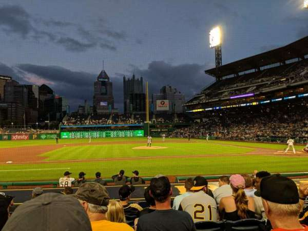PNC Park, section: 22, row: M, seat: 6