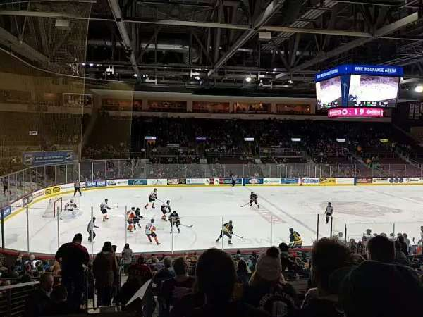 Erie Insurance Arena, section: 217, row: U, seat: 10
