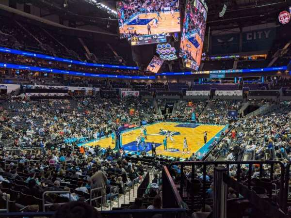 Spectrum Center, section: 116, row: T, seat: 46