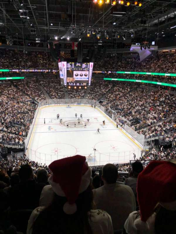 T-Mobile Arena, section: 120, row: L, seat: 13