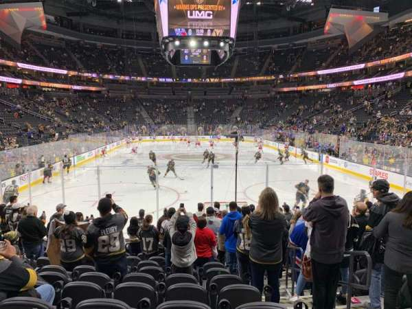 T-Mobile Arena, section: 20, row: K
