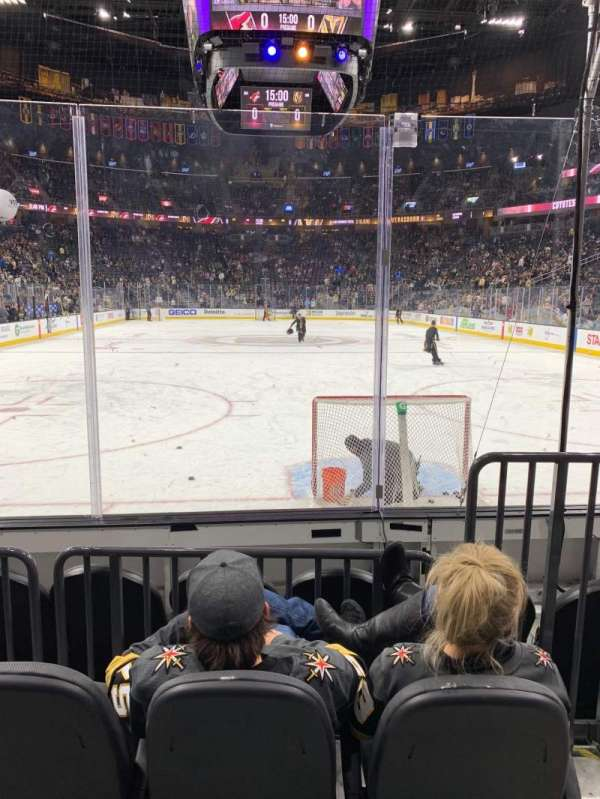T-Mobile Arena, section: 10, row: C, seat: 9