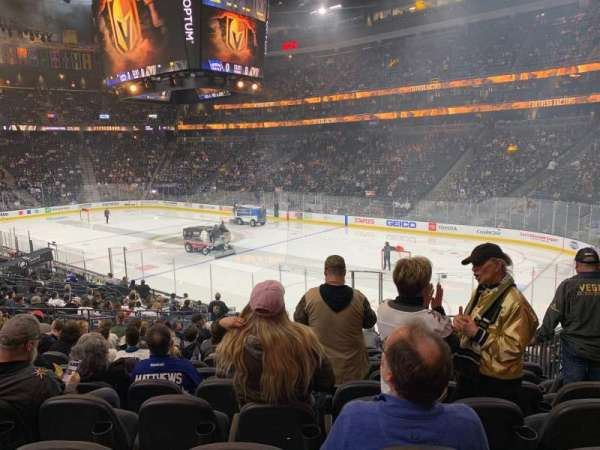 T-Mobile Arena, section: 8, row: R, seat: 15