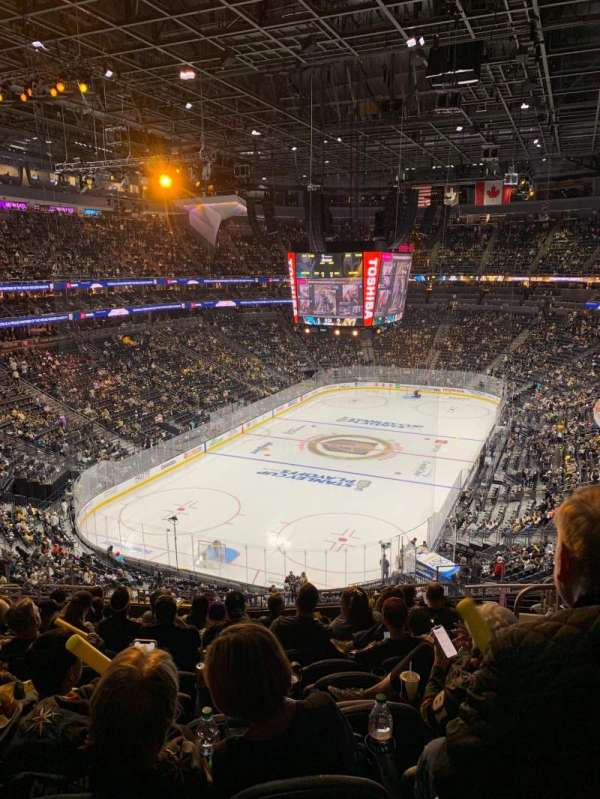 T-Mobile Arena, section: 103, row: M, seat: 10