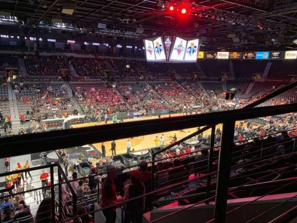 Mandalay Bay Events Center, section: 205, row: E, seat: 2