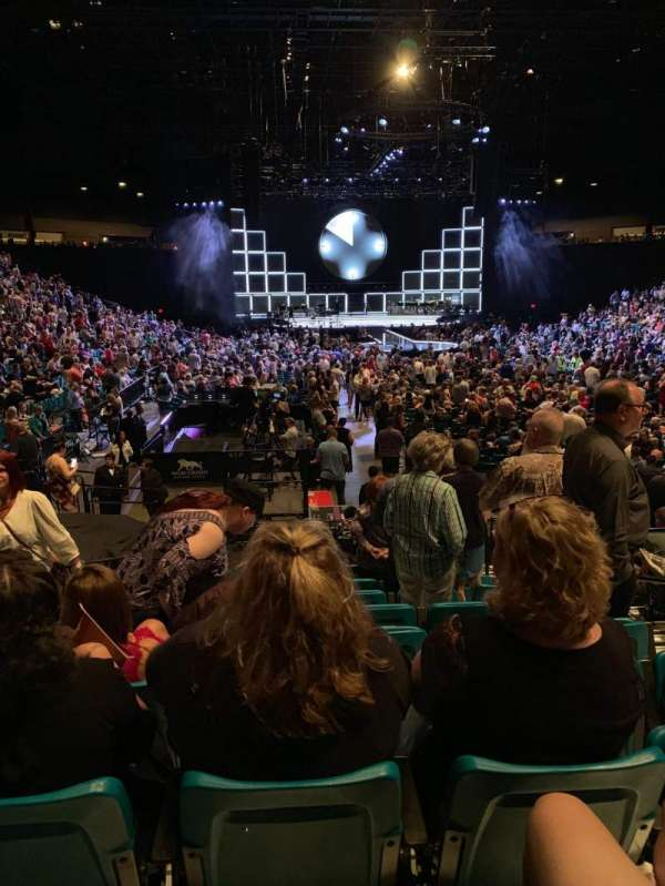 MGM Grand Garden Arena, section: 3, row: N, seat: 4