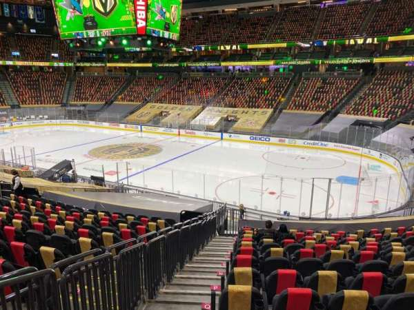T-Mobile Arena, section: 8, row: U, seat: 1