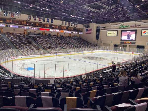 Orleans Arena, section: 107, row: M, seat: 10