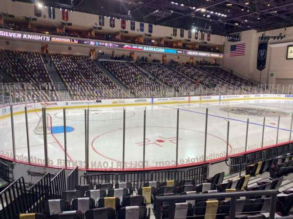 Orleans Arena, section: 107, row: C, seat: 1