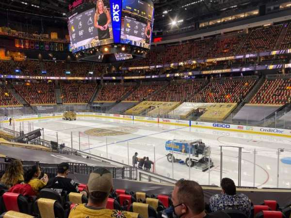 T-Mobile Arena, section: 8, row: N, seat: 11