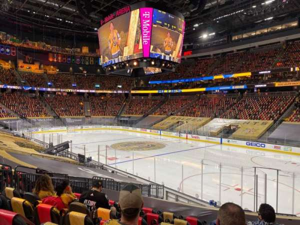 T-Mobile Arena, section: 8, row: N, seat: 10