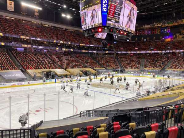 T-Mobile Arena, section: 13, row: L, seat: 10