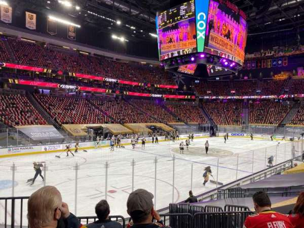 T-Mobile Arena, section: 13, row: K, seat: 2
